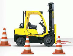 How to Take the Forklift practical test