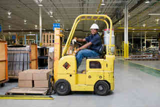 who will provide forklift training