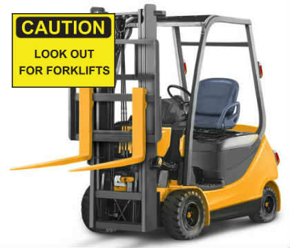 Most common forklift hazards in the workplace