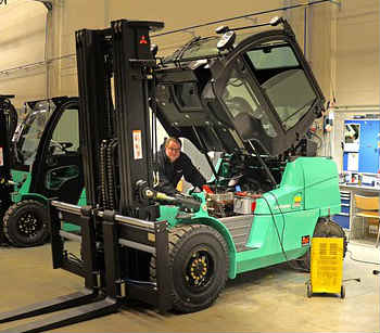 knowing the different forklift sizes